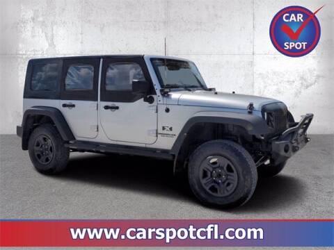 2009 Jeep Wrangler Unlimited for sale at Car Spot Of Central Florida in Melbourne FL
