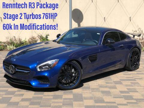 2017 Mercedes-Benz AMG GT for sale at ROGERS MOTORCARS in Houston TX