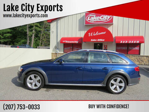 2013 Audi Allroad for sale at Lake City Exports in Auburn ME