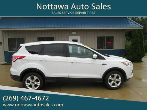 2016 Ford Escape for sale at Nottawa Auto Sales in Nottawa MI