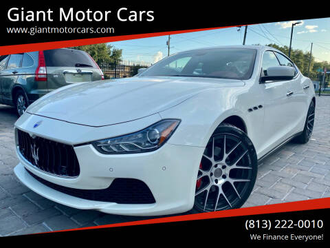 2014 Maserati Ghibli for sale at Giant Motor Cars in Tampa FL
