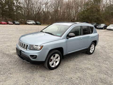 2014 Jeep Compass for sale at Jackie's Car Shop in Emigsville PA