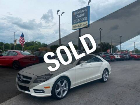 2014 Mercedes-Benz CLS for sale at Michaels Autos in Orlando FL