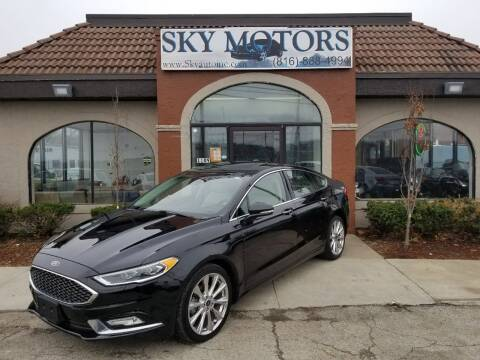 2017 Ford Fusion for sale at Sky Motors in Kansas City MO