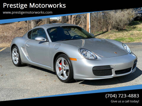 2007 Porsche Cayman for sale at Prestige Motorworks in Concord NC