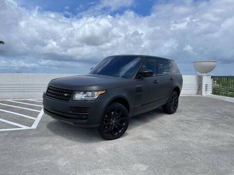 2016 Land Rover Range Rover for sale at AUTOSPORT MOTORS in Lake Park FL