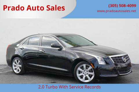 2013 Cadillac ATS for sale at Prado Auto Sales in Miami FL