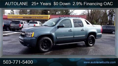 2010 Chevrolet Avalanche for sale at Auto Lane in Portland OR