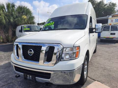 2015 Nissan NV Cargo for sale at Autos by Tom in Largo FL