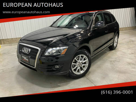 2012 Audi Q5 for sale at EUROPEAN AUTOHAUS in Holland MI
