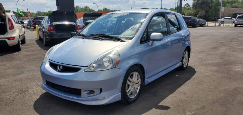 2008 Honda Fit for sale at Real Car Sales in Orlando FL
