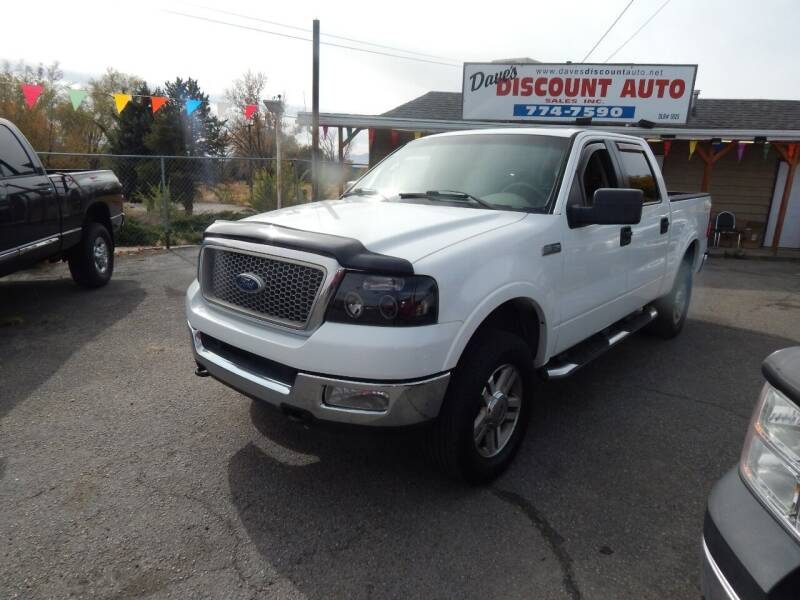 2005 Ford F-150 for sale at Dave's discount auto sales Inc in Clearfield UT