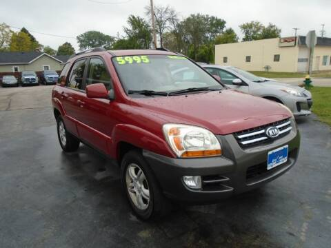 2006 Kia Sportage for sale at DISCOVER AUTO SALES in Racine WI