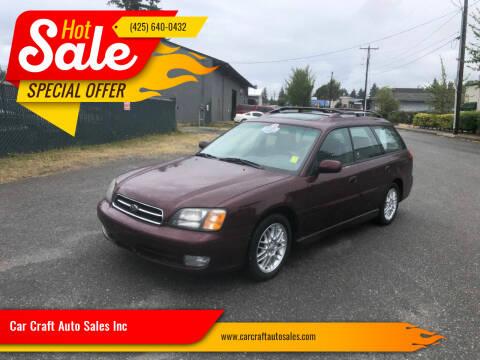 2001 Subaru Legacy for sale at Car Craft Auto Sales Inc in Lynnwood WA