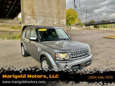 2012 Land Rover LR4 for sale at Marigold Motors, LLC in Pekin IL