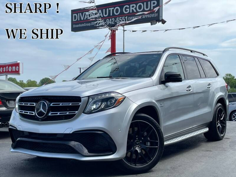 2017 Mercedes-Benz GLS for sale at Divan Auto Group in Feasterville Trevose PA