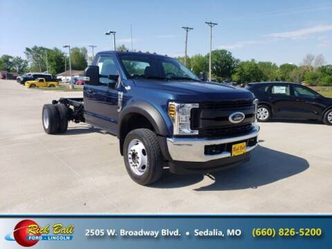 2019 Ford F-550 Super Duty for sale at RICK BALL FORD in Sedalia MO