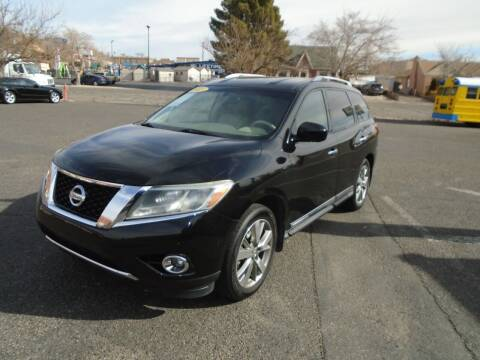 2013 Nissan Pathfinder for sale at Team D Auto Sales in St George UT