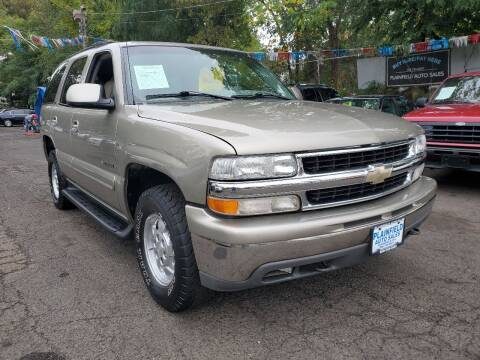 2000 Chevrolet Tahoe for sale at New Plainfield Auto Sales in Plainfield NJ