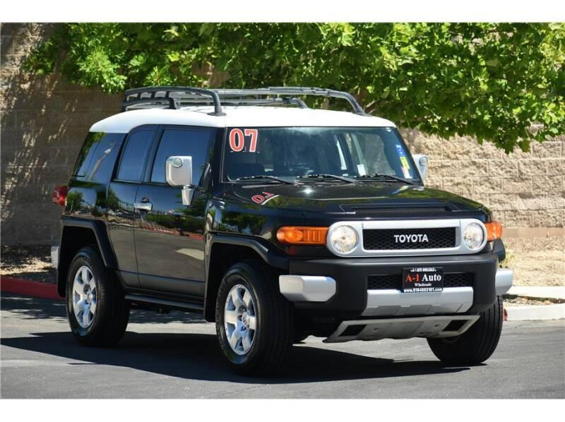 2007 Toyota FJ Cruiser for sale at A-1 Auto Wholesale in Sacramento CA