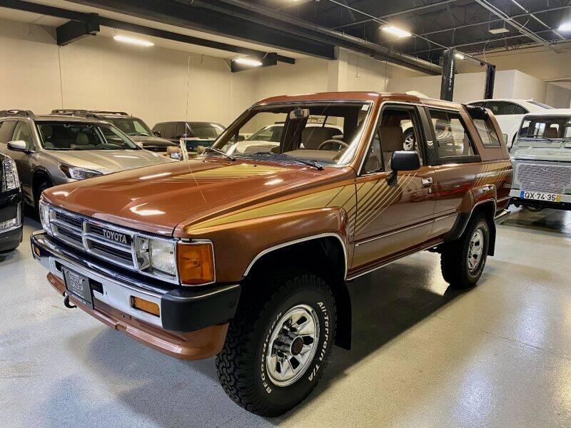 1987 Toyota 4Runner for sale at Motorgroup LLC in Scottsdale AZ