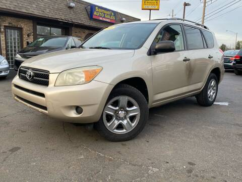 2006 Toyota RAV4 for sale at Samuel's Auto Sales in Indianapolis IN