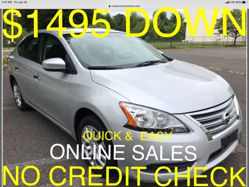 2014 Nissan Sentra for sale at Cooks Motors in Westampton NJ