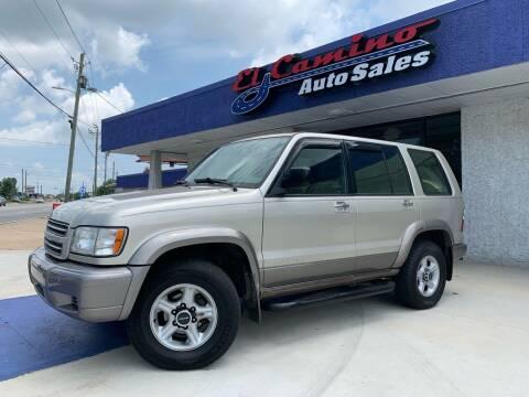 2002 Isuzu Trooper for sale at El Camino Auto Sales Gainesville in Gainesville GA
