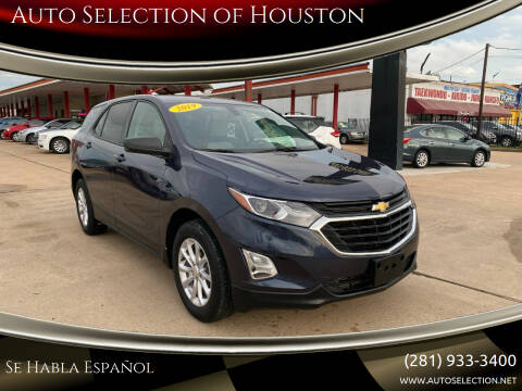 2019 Chevrolet Equinox for sale at Auto Selection of Houston in Houston TX