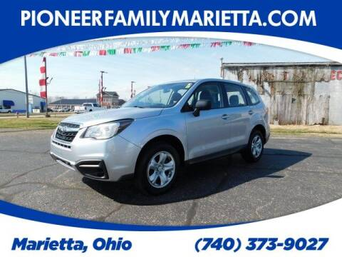 2018 Subaru Forester for sale at Pioneer Family preowned autos in Williamstown WV