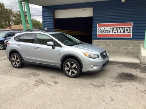 2014 Subaru XV Crosstrek for sale at Select AWD in Provo UT