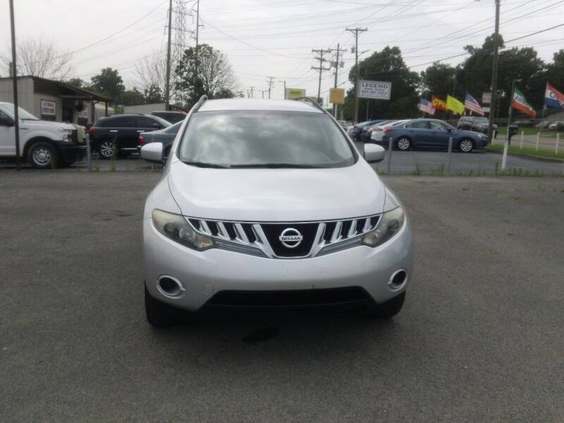 2009 Nissan Murano for sale at Knoxville Used Cars in Knoxville TN