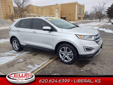 2017 Ford Edge for sale at Lewis Chevrolet Buick of Liberal in Liberal KS