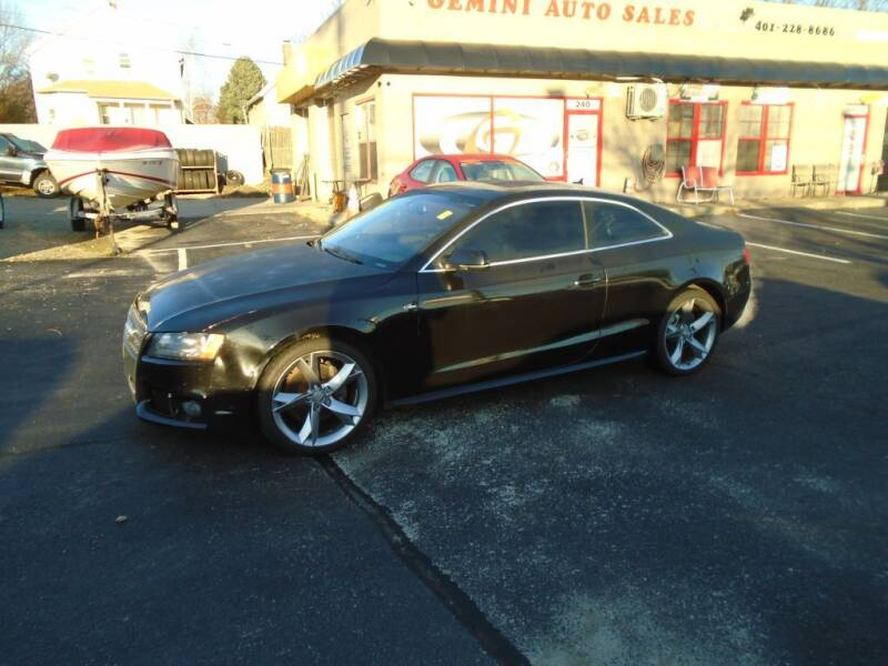 2011 Audi A5 for sale at Gemini Auto Sales in Providence RI