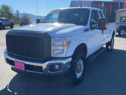 2014 Ford F-350 Super Duty for sale at Snyder Motors Inc in Bozeman MT