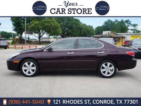 2005 Lexus ES 330 for sale at Your Car Store in Conroe TX