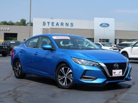 2020 Nissan Sentra for sale at Stearns Ford in Burlington NC