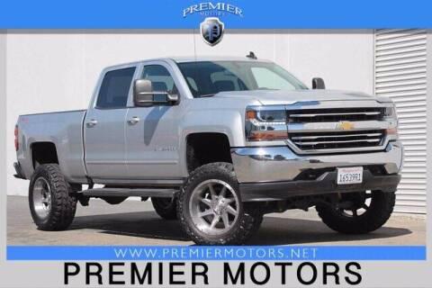 2017 Chevrolet Silverado 1500 for sale at Premier Motors in Hayward CA
