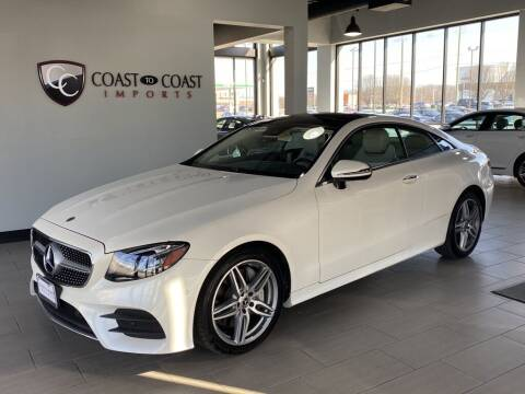 2018 Mercedes-Benz E-Class for sale at Coast to Coast Imports in Fishers IN