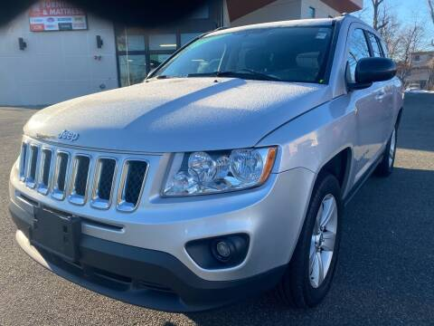 2012 Jeep Compass for sale at MAGIC AUTO SALES in Little Ferry NJ