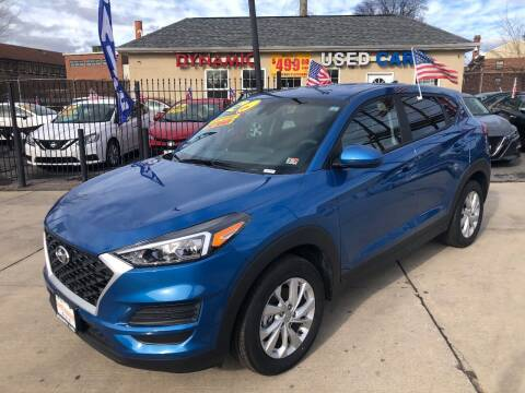 2020 Hyundai Tucson for sale at DYNAMIC CARS in Baltimore MD