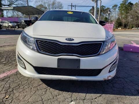 2014 Kia Optima for sale at Fast and Friendly Auto Sales LLC in Decatur GA