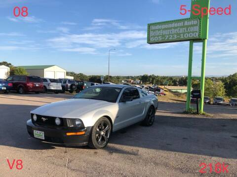 2008 Ford Mustang for sale at Independent Auto in Belle Fourche SD