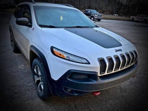 2018 Jeep Cherokee for sale at Carder Motors Inc in Bridgeport WV