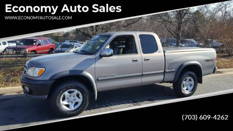 2000 Toyota Tundra for sale at Economy Auto Sales in Dumfries VA