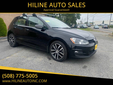 2015 Volkswagen Golf for sale at HILINE AUTO SALES in Hyannis MA
