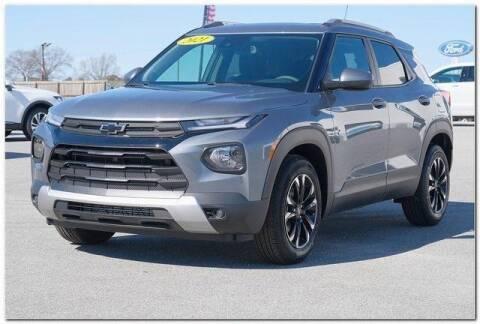 2021 Chevrolet TrailBlazer for sale at WHITE MOTORS INC in Roanoke Rapids NC