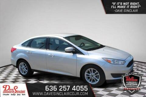 2018 Ford Focus for sale at Dave Sinclair Chrysler Dodge Jeep Ram in Pacific MO
