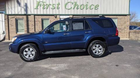 2007 Toyota 4Runner for sale at First Choice Auto in Greenville SC