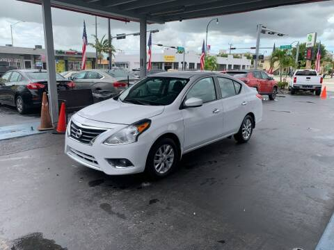 2017 Nissan Versa for sale at American Auto Sales in Hialeah FL